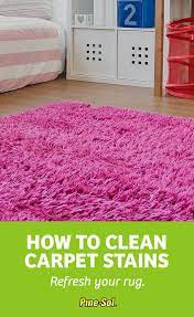 how to clean carpet stains pine sol