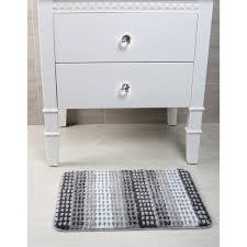 <b>Коврик для ванной</b> комнаты Point <b>40x60</b> см цвет серый в ...