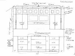 standard height of kitchen wall cabinets trendyexaminer