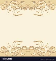 Golden Invitation Card Design Wedding Invitation Card Design