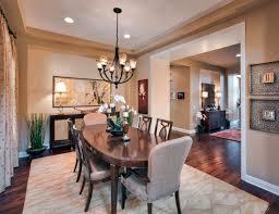 dining room table rug floor