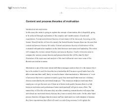 content and process theories of motivation gcse business studies  document image preview