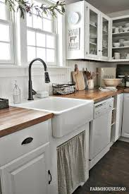 Farm House Kitchen 17 Best Ideas About White Farmhouse Kitchens On Pinterest