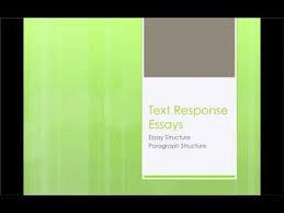 text response essays  text response essays