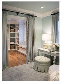Best Curtains instead of door into master closet closet door curtains