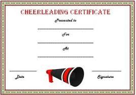 Teamwork Certificate Templates Cheerleading Certificate Templates Free Cheerleading Templates
