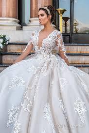 Discount Keyhole Back Monarch Train Princess Wedding Dresses 2017