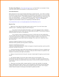 6 Summary Of Qualifications Resume Example Ledger Review