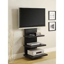 wall furniture shelves. Altra Furniture Elevation Black Entertainment Center Wall Shelves