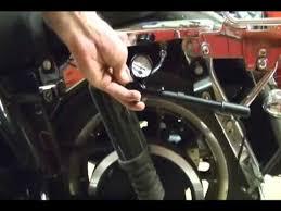 Harley Davidson Air Suspension Chart Motorcycle Repair Adjusting The Rear Suspension Air System Shocks On A Harley Davidson