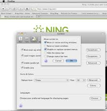 how to enable javascript enable javascript in your browser ning 3 help
