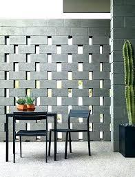 insulating cinder block walls modern concrete