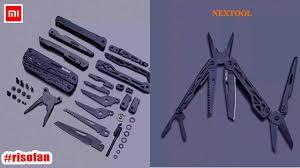 Xiaomi <b>Nextool Multifunction Knife Black</b>. - YouTube