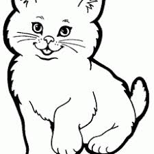 Amazing Idea Cats Coloring Sheet Cat Pages Free And Printable Sheets