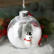 Open Christmas Ball Ornament