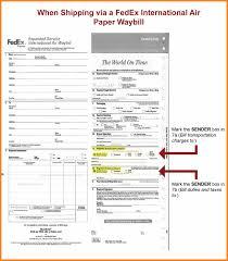 Waybill Form Download Barca Fontanacountryinn Com