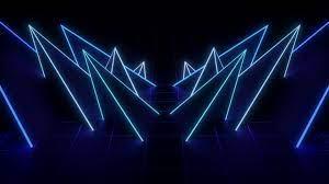 Blue Neon Wallpaper HD