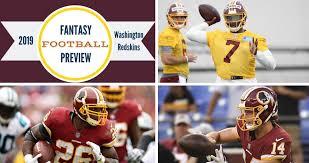 Redskins Qb Depth Chart 2018 Fitz On Fantasy 2019 Washington Redskins Buying Guide The