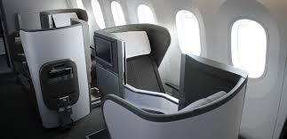 British Airways Business Class Seating Chart Best Business Class Seats On British Airways Boeing 787 9