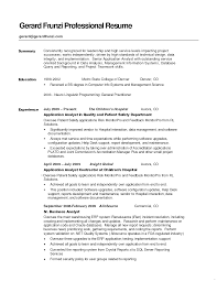 Good summary for resume example great statements professional examples  luxury screnshoots