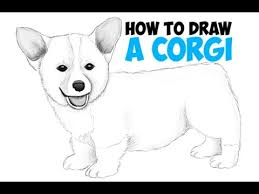 Small Picture How to Draw a Corgi Step by Step Easy Drawing a Corgi Puppy Dog