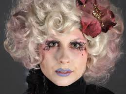 whimsical effie trinket makeup tutorial this halloween