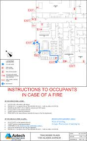 sample safety plan fire safety plans evacuation plans aztech