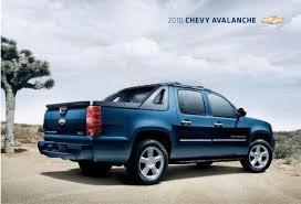 GM 2010 Chevrolet Avalanche Sales Brochure