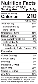 Green Mill Nutrition Chart Chicken Wild Rice Soup Green Mill Foods