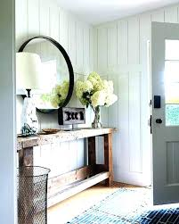 white entry table entry table white entry table modern farmhouse style decorating ideas on a budget white entry table