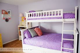 Posh Bunk Beds As Wells As Bunk And Girls Bedroom Ideas In Bunk