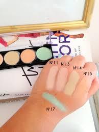 makeup forever 5 camouflage cream palette no 1 mugeek vidalondon