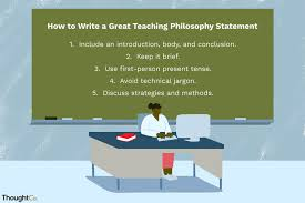 Thesis Statement For Education Essay 4 Teaching Philosophy Statement Examples