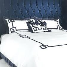 greek key duvet cover sheets quilt shakuf
