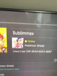 I have Pokemon shield and wanna do some trades with someone from Pokemon  sword as I'm tryna complete the pokedex. My friend code is: 2644-6922-2897  and my discord is: Aphelios Star#5158. Thanks :) :