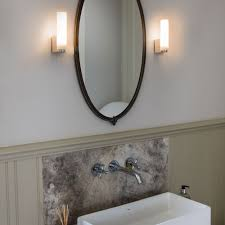 bathroom mirror lighting ideas. Lighting Decoration, Oil Rubbed Bronze Sconce Led Wall Indoor Iron Corded Bathroom Mirror Ideas R