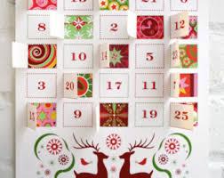 advent calander modern advent calendar printable pdf