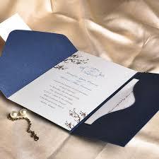latest wedding color trends blue wedding ideas and invitations White And Blue Wedding Invitations navy blue pocket wedding invitations royal blue and white wedding invitations