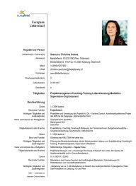 Lebenslauf Doc Cover Letter Sample For A Resume