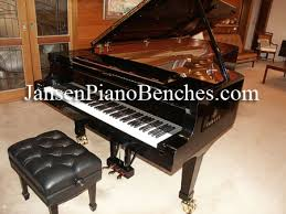 Antique Bechstein Grand Piano For Sale With A Rosewood Case And Concert Piano Bench