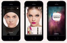 Loréal App L Beauty For And Lovers Selfie From New Fashion Paris Makeup Oreals Genius Apps