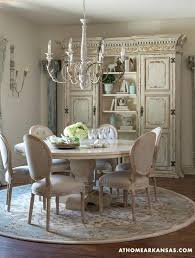 french country dining room furniture sets neutral ground creamy round rugs table