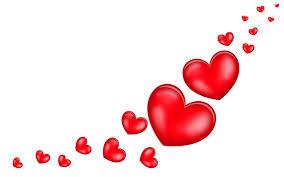 Image De Coeur Tra N E De Coeurs Rouges