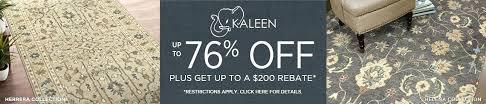 kaleen rugs save up to rebate ay
