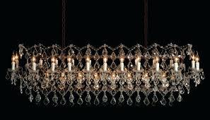 large rectangular chandelier adeline crystal rectangular chandelier large 37 length