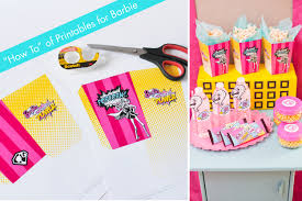 barbie in princess power viewing party the how to for printables