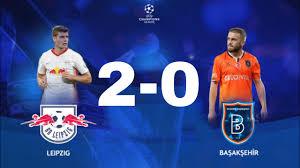 Leipzig Başakşehir maç özeti izle