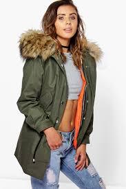 womens parka coats with fur hood