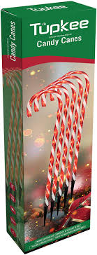 Candy Cane Lights 3 Pack Tupkee Candy Cane Lights Decorations Pre Lit Pathway Christmas Lights 26 Inches 66 Cm Set Of 5 Outdoor Christmas Decorations Yard Candycane
