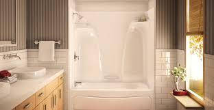 Shower  Shower Tub Combo Ideas Amazing Tub And Shower Units Chic Acrylic Shower Tub Combo
